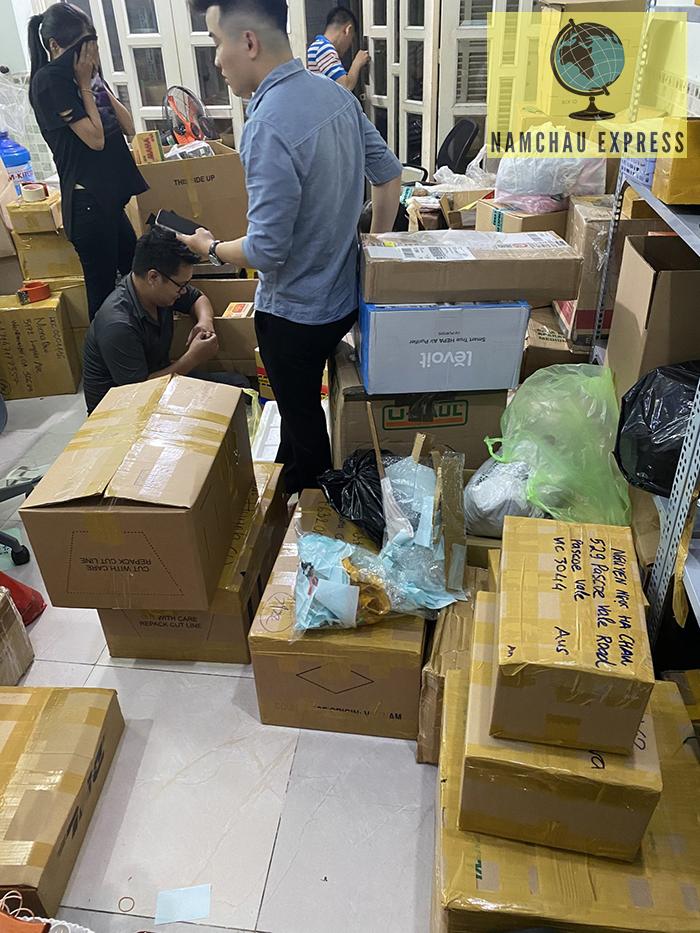 Gửi hàng đi Trung Quốc