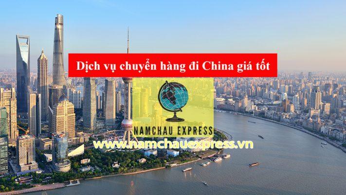 chuyển hàng đi China