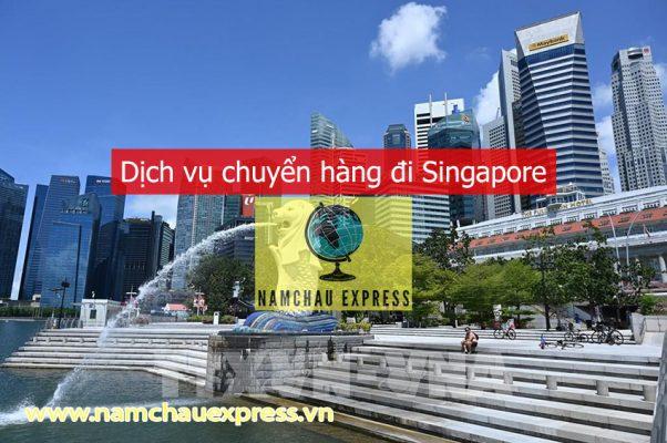 Dịch vụ chuyển hàng đi Singapore
